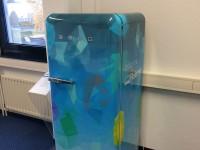 01 - Folierung Digitaldruck Kühlschrank und Sideboards