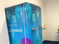 02 - Folierung Digitaldruck Kühlschrank und Sideboards