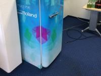 03 - Folierung Digitaldruck Kühlschrank und Sideboards