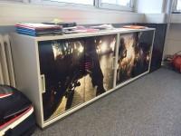 05 - Folierung Digitaldruck Kühlschrank und Sideboards