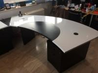 02 - Folierung Schreibtisch und Schrank