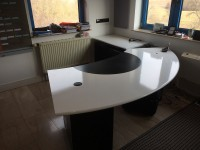 05 - Folierung Schreibtisch und Schrank