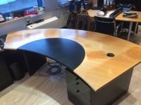 07 - Folierung Schreibtisch und Schrank
