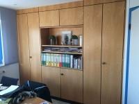 13 - Folierung Schreibtisch und Schrank