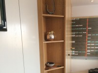 14 - Folierung Schreibtisch und Schrank