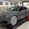 02 - Audi RS3 Rot Matt Vorher