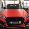 05 - Audi RS3 Rot Matt Frontal