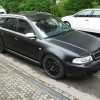 03 - Audi RS4 in Schwarz Matt