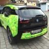 03 - BMW i3 Teilverklebung mit Digitaldruck